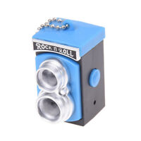 Double Twin Lens Reflex TLR Camera Style LED Flash Light Torch Shutter I7W2