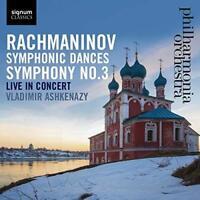 Vladimir Ashkenazy Philharmonia Orch - Rachmaninov: Symphonic Dances/Sy (NEW CD)