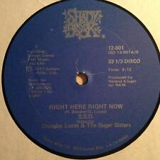 """SSO & Douglas Lucas & The Sugar Sisters """"Right Here Right Now"""" 1977 Shady Brook"""