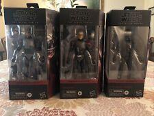Star Wars: Bad Batch Black Series Figure Lot Hunter #1 Crosshair #2 Clone #3 MIB