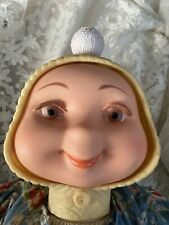 """Vintage Whimsie doll Hedda Gets Bedda 3 three face 1961 22"""" American Character"""