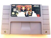 Judge Dredd (Super Nintendo, 1995) SNES Cartridge Only Tested & Working