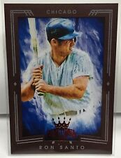 Ron Santo 2015 Diamond Kings RED Framed Parallel #119 - CHICAGO CUBS