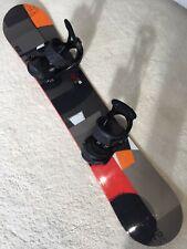 New listing Burton Clash 55 Snowboard (155cm) Burton Re-flex Bindings bag, waxed barely used