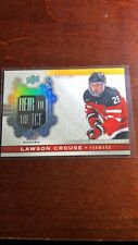 2017-18 TEAM CANADA..Rare Exclusive  HEIR TO THE ICE 093/100 LAWSON CROUSE