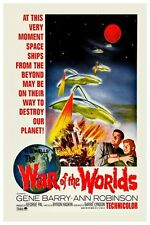 """VINTAGE - WAR OF THE WORLDS #2 MOVIE POSTER 12"""" X 18"""""""