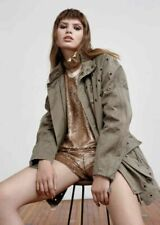 Sass & Bide gold sequIn shorts CURE YOUR MELANCHOLY New free post RRP $390