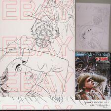 ORIGINAL ARTWORK  Dr Who DVD files  TIME AND THE RANI Sylvester Mc Coy TETRAP