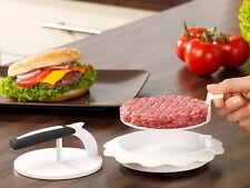 Hamburgerpresse Frikadellenpresse Burgerpresse für das perfekte Patty 3-teilig