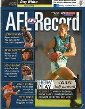 Football Record Rare Interstate 2004 Hawthorn vs Adelaide