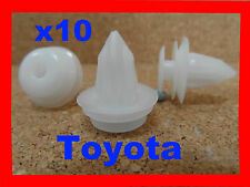 10 Toyota Porte Carte Corps Garniture Panneau Moulure Fastener Clips De Retenue