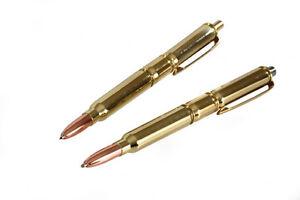 Heckler Koch HK Cartridge Amunition Caliber Bullet Pen & Pencil CHL Gift Set