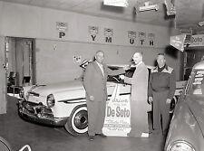 1956 Desoto Showroom Life Size Cardboard Groucho Marx 8 x 10 Photograph