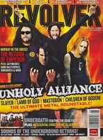 AUG 2006 REVOLVER rock and roll music magazine UNHOLY ALLIANCE