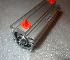 """SMC Type NCDQ Compact Air Cylinder, Double Acting, 32MM Bore x .75"""" Stroke - USA"""