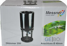 Standskimmer Meßner Anschluß 40mm Skimmer 200 Teich Teleskopskimmer Teichskimmer