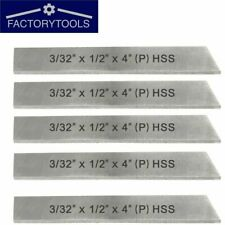 5 Pcs Cut Off Blade 332 X 12 X 4 Hss Hardened Ground Parting Tool
