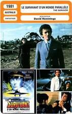 FICHE CINEMA : LE SURVIVANT D'UN MONDE PARALLELE - Powell,Agutter,Cotten 1981