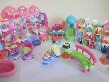Littlest Pet Shop LOT 10 Random Pcs Accessories Hair Salon Spa for Dogs Cats