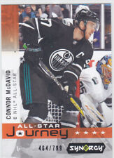 19/20 SYNERGY..CONNOR McDAVID..ALL-STAR JOURNEY../799..# AP-5..OILERS..FREE