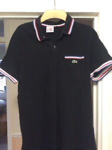Lacoste live polo size 5 black immaculate condition
