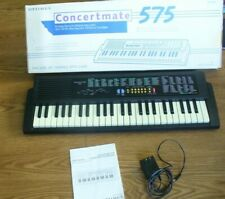 Concertmate 575 Optimus Electronic Keyboard--GREAT CONDITION-- TESTED
