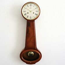 HAID GERMAN Wall CLOCK BALLOON Vintage HIGH GLOSS! DOUBLE Bell Chime Rare Model
