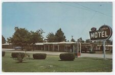 Flora, Illinois, Early View of The New Ranch Motel