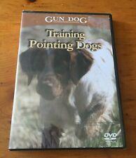 GUN DOG TRAINING POINTING DOGS DVD - BRAND NEW - Hunting Dog Training