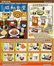 San-x Miniatures Rilakkuma Showa cafeteria complete Box set - Re-ment  , h#2ok