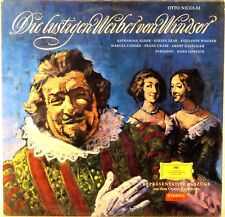 DGG RED STEREO Nicolai MERRY WIVES OF WINDSOR Lowlein LEAR Alder SLPM 136 421