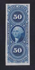 US R60P3 50c Original Process Proof on India Paper XF SCV $65