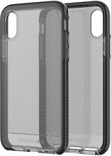 Tech21 Evo Check Series Protective Case Cover for iPhone X/XS - Smokey/Black