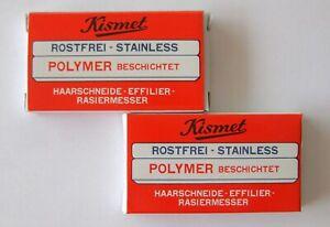 Crp-Solingen 2 X 6er-Pack Blades For Kismet Razor Styling Shaper Thinning Shaper