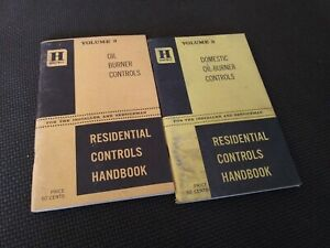 Honeywell Residential Controls Handbook Volumes  3 Oil Burner Controls Domestic