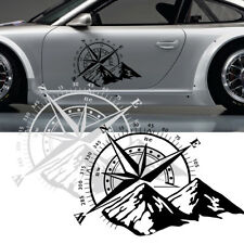 Compass Vinyl Sticker Decal Off Road Car Hood Side Body Waterproof