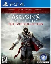 PLAYSTATION 4 - ASSASSIN'S CREED EZIO COLLECTION BRAND NEW SEALED