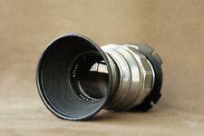 Jupiter-11 Silver 4/135mm Russian Lens for Pl Mount Ussr +Hood