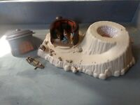 Star Wars Micro Machines Jabba's Palace Playset - Complete