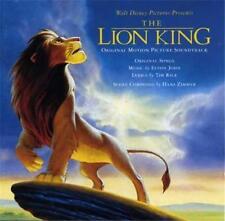 Walt Disney THE LION KING Soundtrack CD Hans Zimmer Elton John