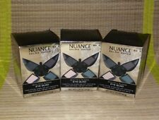 Lot of 3 Quad Nuance Salma Hayek Eyeshadow Quad #075 Smokey Beautiful Blend