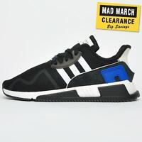 Adidas Originals EQT Cushion ADV Mens Retro Fitness Gym Fashion Trainers Black
