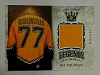 Sage 2018 Sports Kings Legends Memorabilia Jersey Swatch Ray Bourque.LSM-1