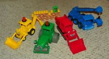 LEGO - Duplo Bob the Builder - Scoop, Roley, Muck & Lofty - Complete Assembly