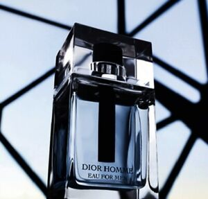 Dior Homme  For Men Eau De Toilette Spray 3.4 Oz 100 ML New! Without Box