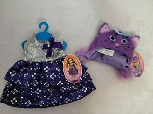 New my Life Doll clothes purple dress and purple cat hat