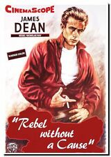 HIGH QUALITY CANVAS ART PRINT James Dean `Rebel without a Cause' Photo A4 poster