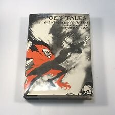 Arthur Rackham Edgar Allan Poe Poe's Tales of Mystery & Imagination HC DJ