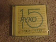 15 FROM RYKODISC 1998 RYKO 15  CD  NEW