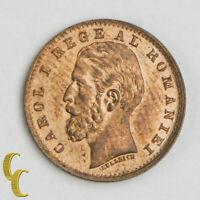 1900B Romania Ban, BU Copper Coin KM# 26